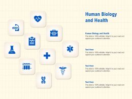 Human Biology And Health Ppt Powerpoint Presentation Icon Sample