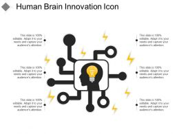Human Brain Innovation Icon
