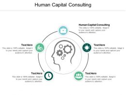 Human Capital Consulting Ppt Powerpoint Presentation Styles Icon Cpb
