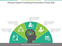 Human Capital Consulting Presentation Visual Aids