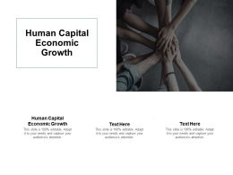 Human Capital Economic Growth Ppt Powerpoint Presentation Layouts Backgrounds Cpb