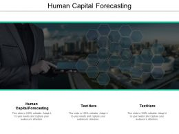 Human Capital Forecasting Ppt Powerpoint Presentation Outline Cpb