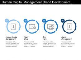 Human Capital Management Brand Development Human Capital Development