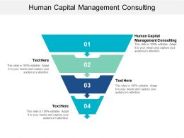Human Capital Management Consulting Ppt Powerpoint Presentation File Slide Portrait Cpb