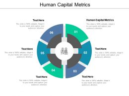 Human Capital Metrics Ppt Powerpoint Presentation File Master Slide Cpb