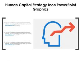 Human Capital Strategy Icon Powerpoint Graphics
