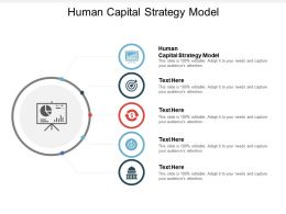 Human Capital Strategy Model Ppt Powerpoint Presentation Layouts Master Slide Cpb