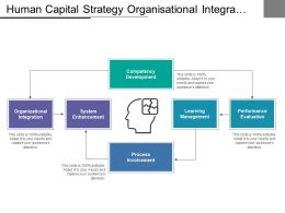 Human Capital Strategy Organisational Integration Process Involvement