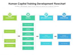 Human Capital Training Development Flowchart