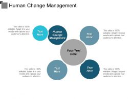 Human Change Management Ppt Powerpoint Presentation File Good Cpb
