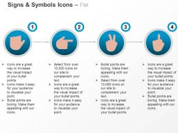 Human Hands Level Indication Ppt Icons Graphics