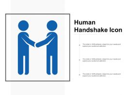 Human Handshake Icon