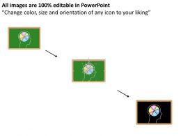 human_head_with_pie_chart_inside_flat_powerpoint_desgin_Slide02