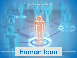 Human Icon Business Human Conversation Meeting Strategy Planning