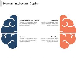Human Intellectual Capital Ppt Powerpoint Presentation Gallery Clipart Cpb