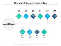 Human Intelligence Automation Ppt Powerpoint Presentation Inspiration Good Cpb