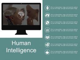 Human Intelligence Presentation Visuals