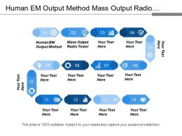 Human Me Output Method Mass Output Radio Tower
