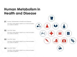 Human Metabolism In Health And Disease Ppt Powerpoint Presentation Graphics Example