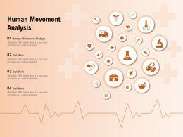 Human Movement Analysis Ppt Powerpoint Presentation Show Graphics Tutorials