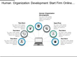 Human Organization Development Start Firm Online Ops Marketing Cpb