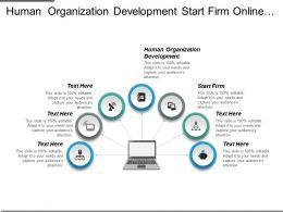 Human Organization Development Start Firm Online Ops Marketing Cpb
