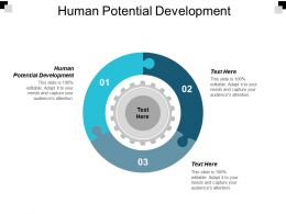 Human Potential Development Ppt Powerpoint Presentation Layouts Show Cpb