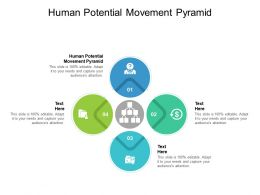 Human Potential Movement Pyramid Ppt Powerpoint Presentation Shapes Cpb