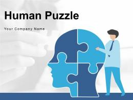 Human Puzzle Collection Decision Making Process Communication Marketing Business