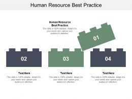 Human Resource Best Practice Ppt Powerpoint Presentation File Gridlines Cpb