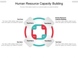 Human Resource Capacity Building Ppt Powerpoint Presentation Show Maker Cpb