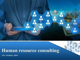 Human Resource Consulting Powerpoint Presentation Slides