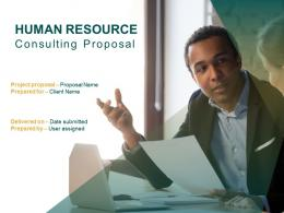Human Resource Consulting Proposal Powerpoint Presentation Slides