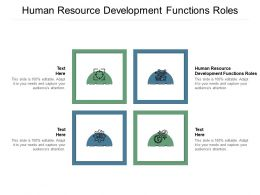Human Resource Development Functions Roles Ppt Powerpoint Presentation Layouts Pictures Cpb