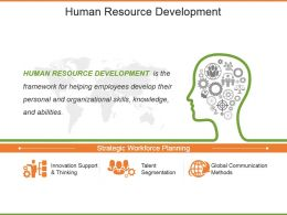 Human Resource Development Powerpoint Slide Backgrounds