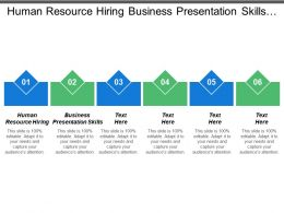 Human Resource Hiring Business Presentation Skills Crisis Management