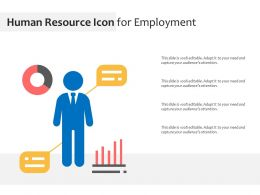 Human Resource Icon For Employment