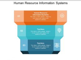 Human Resource Information Systems Ppt Powerpoint Presentation Inspiration Cpb