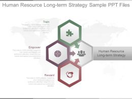 Human Resource Long Term Strategy Sample Ppt Files