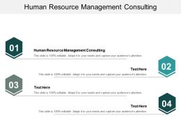 Human Resource Management Consulting Ppt Powerpoint Presentation Outline Show Cpb