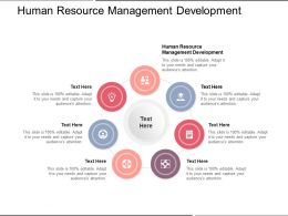 Human Resource Management Development Ppt Powerpoint Presentation Slides Cpb