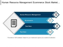 Human Resource Management Ecommerce Stock Market Event Sponsorship Cpb