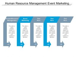 Human Resource Management Event Marketing Enterprise Resource Planning Cpb