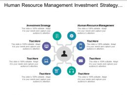 Human Resource Management Investment Strategy Production Management Tools Cpb