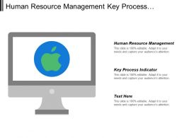 Human Resource Management Key Process Indicator Business Unit
