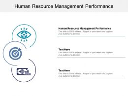 Human Resource Management Performance Ppt Powerpoint Presentation Infographics Cpb