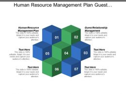 Human Resource Management Plan Guest Relationship Management Transition Plans Cpb