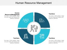 Human Resource Management Ppt Powerpoint Presentation File Skills Cpb