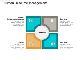 Human Resource Management Ppt Powerpoint Presentation Layouts Skills Cpb