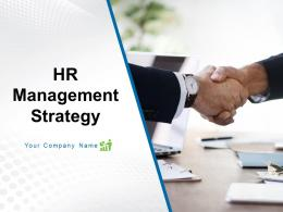 Human Resource Management Strategy Powerpoint Presentation Slides